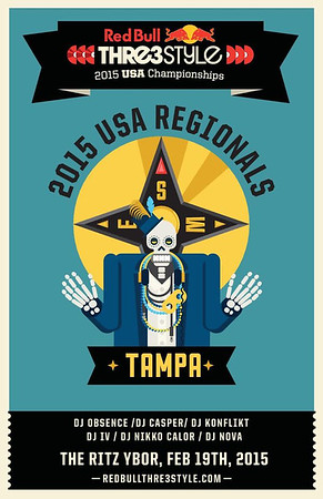 Red Bull Thre3Style 2015 Tampa Regional Qualifier