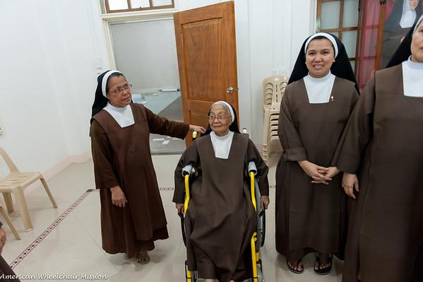 Naga City: Visit to Carmelite Monastery