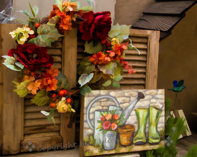 Flowers & Boots - Judith Sparhawk