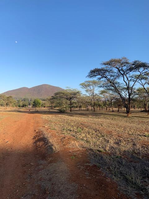 A View of Cherenba Mountain near Africa University