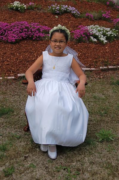 Kelsey's 1st Communion