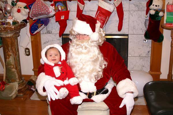 Damian's First Christmas