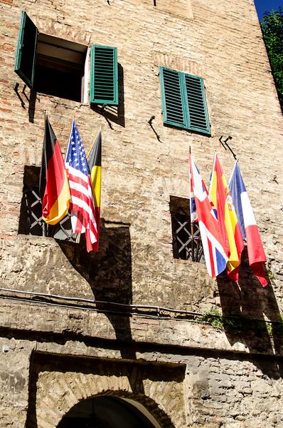 Siena flags