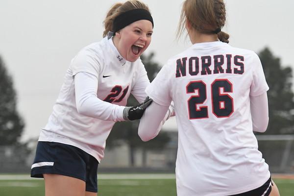 Varsity Girls Soccer vs Nebraska City
