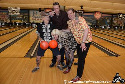 London Gutterball Punks - Squad 1 - Punk Rock Bowling 2012 Team Photo - Sam's Town - Las Vegas, NV - May 26, 2012