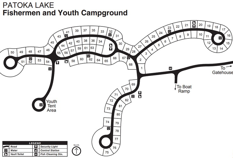 Patoka Lake (Fisherman & Youth Campgrounds)