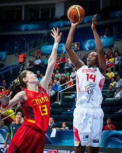 Quarterfinals: Spain - China