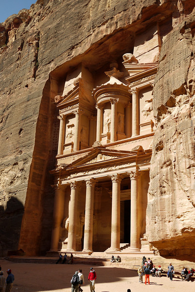 Treasury in Petra, Jordan.