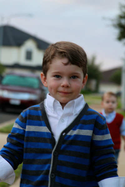 Greyson and Grant October 2011