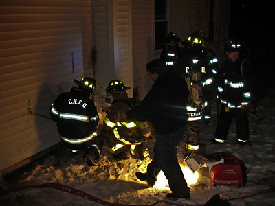1-7-10 Mutual-Aid Structure Fire, Putnam Valley