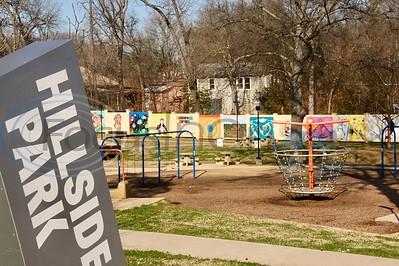 Springtime at Hillside Park by Jim Bauer
