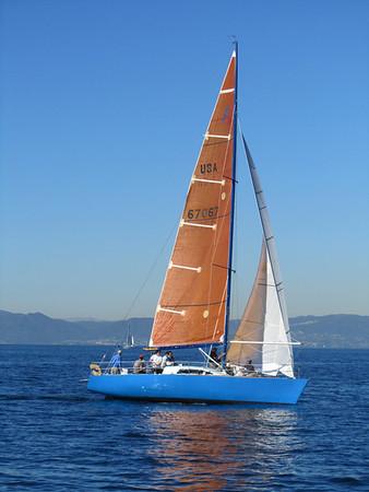 Azzurra sailing