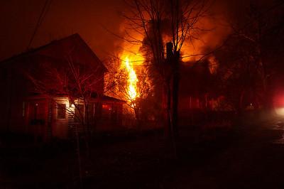 Locust Ave Fire