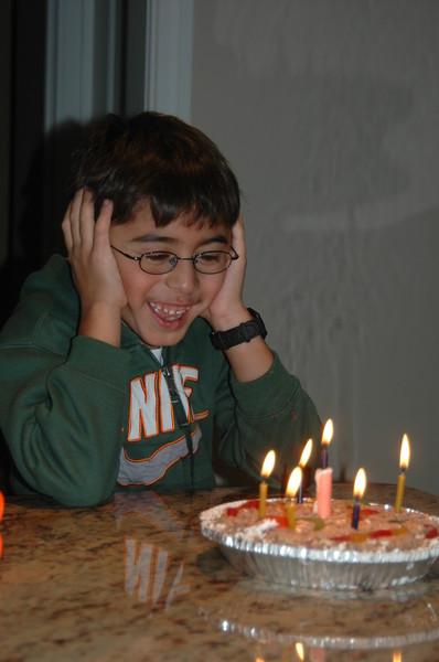 Kian's 8th Birthday
