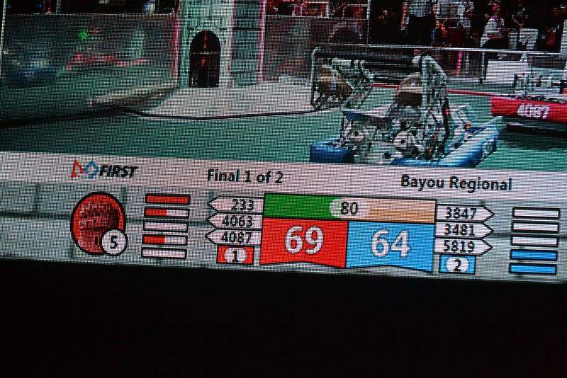 2016 First Bayou Regional Robotics Competition - Bouvier - 637