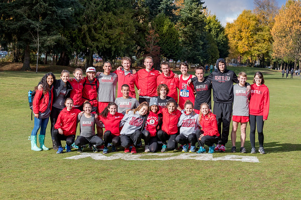 2017 Seattle U NCAA XC Regional
