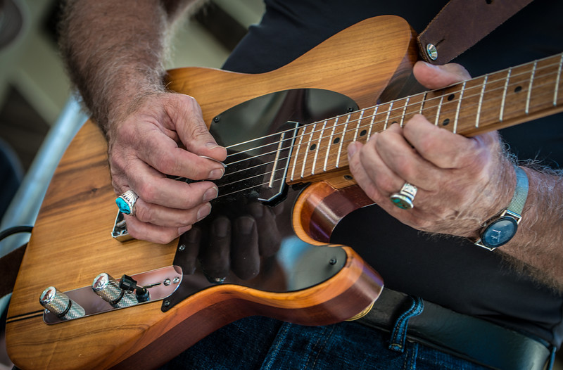 Footy-Guitar by Husting Brothers-City Mouse All Stars-Rock Bend Folk Festival 2014