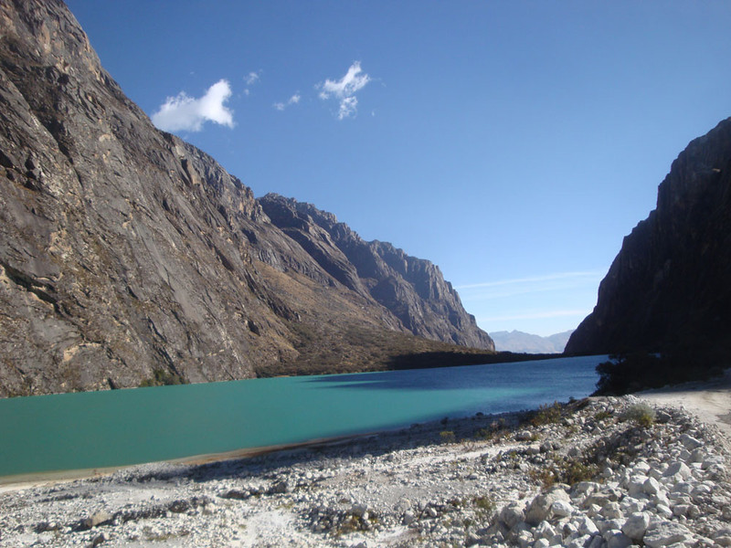 Laguna Chinancocha. The lakes are famous for their colours.