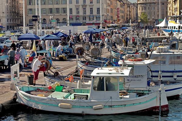 Marseille vue de la mer