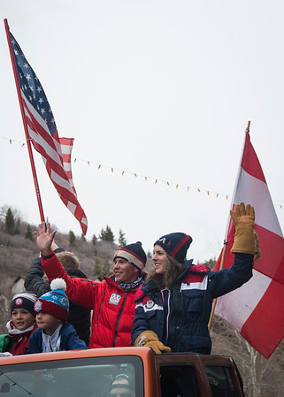 2018 Olympic Homecoming Parade - Park City