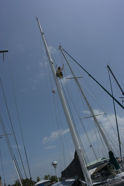 Servicing Staysail Fitting