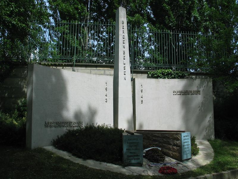 Bergen-Belsen monument