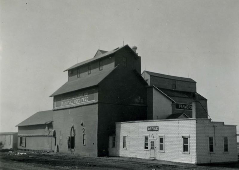 JA029.  Farmers Elevator Co. before the move - 1939 .jpg