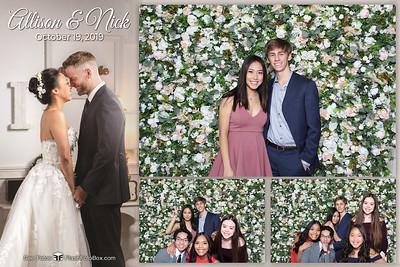 Allison & Nick Wedding - October 19, 2019