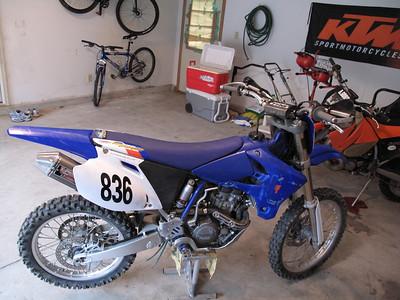 2004 Yamaha YZ250F