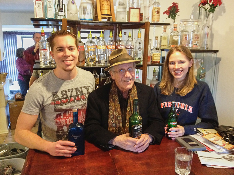 NIck, Larry Lebin, Annie - at Nick's condo in Mechanicsburg PA. Dec 28 2012