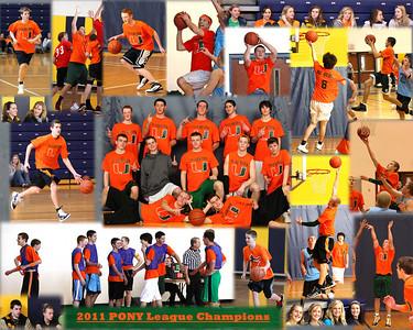 PONY League 7th Floor Crew Team Collage