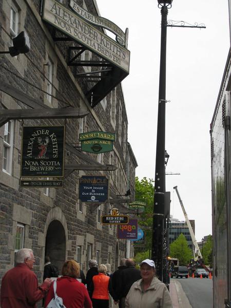 Alexander Keith Brewery - Halifax, Nova Scotia