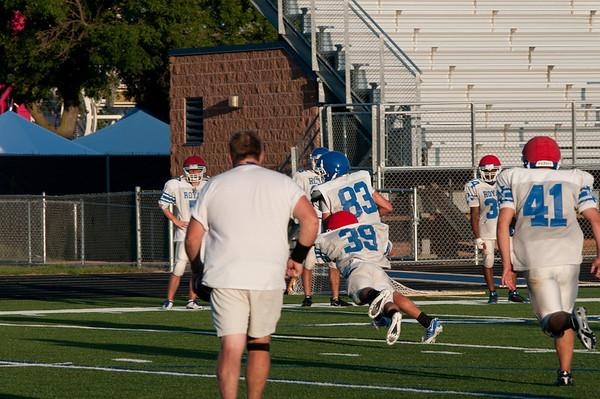 Woodbury Varsity Football 2010