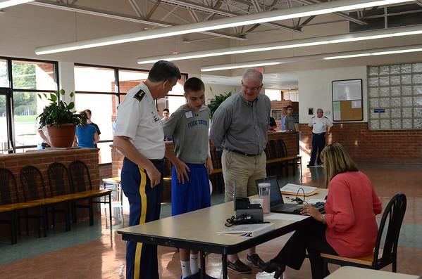 Returning Cadet Check In