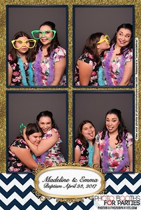 Madeline & Emma's Baptism Celebration