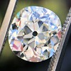 3.07ct Antique Cushion Cut Diamond GIA M VS2 0
