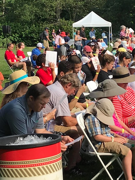 56th Annual July 4th Naturalization Ceremony