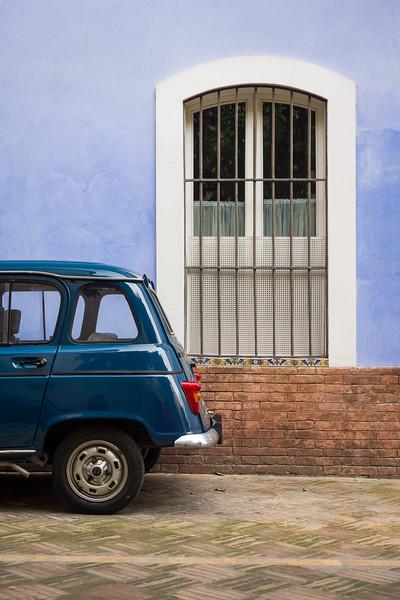 'Renault Azul' - Seville, Spain