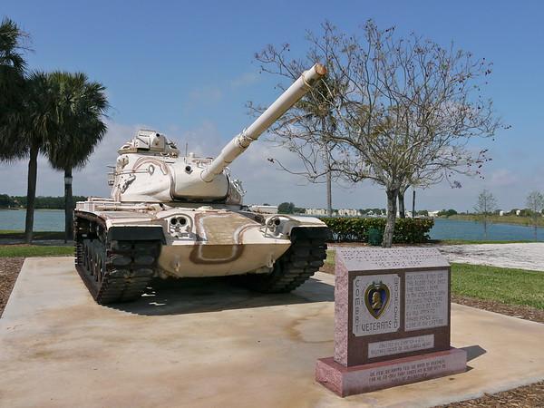 Veterans Park - Oakland Park, FL - M60A3