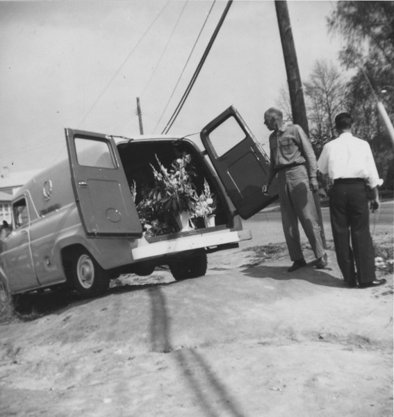Tysons Wheeler's truck (Driver died and wrecked* truck)  *originally typed 'recked'