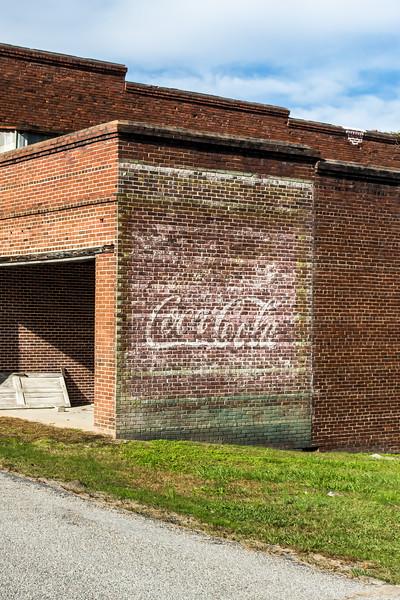GA, Camak - Coca-Cola Wall Sign 02