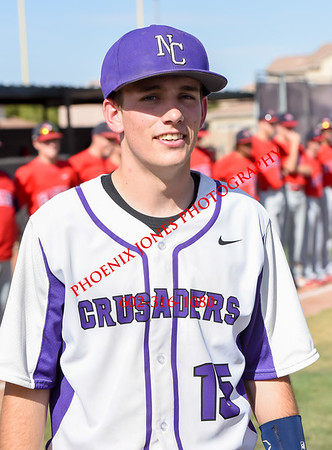 4-27-2016 - Scottsdale Christian Academy at Northwest Christian Baseball Game (SCA at NCS)