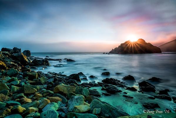 Pfeiffer Beach - Monterey - Pigeon Point