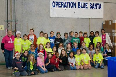 2011.12 Fourth Grade Blue Santa Day