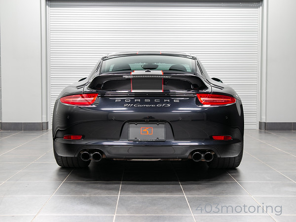 '15 911 GTS - Jet Black Metallic