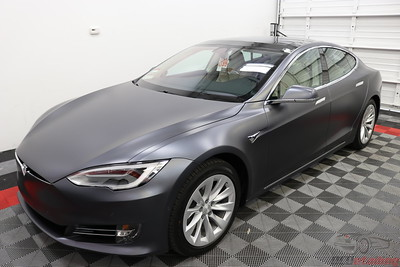 2017 Tesla Model S - Midnight Silver Metallic - Stealth Wrap