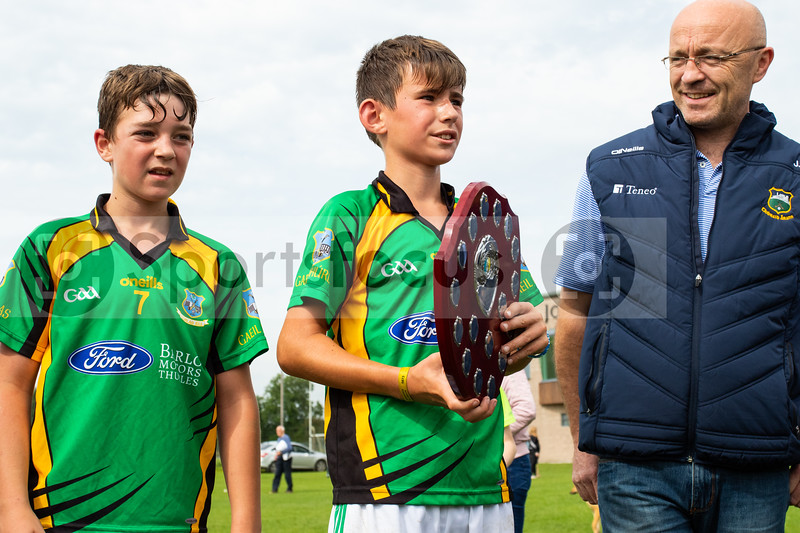 24th August 2019 Tipperary Under 12 D Hurling Championship Final Borris-Ileigh vs Thurles Gaels in Holycross