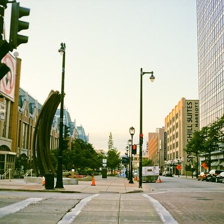 Sunset on Downtown Milwaukee