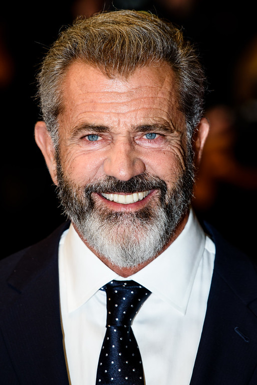 ". Actor Mel Gibson attends the ""Blood Father\"" Premiere during the 69th annual Cannes Film Festival at the Palais des Festivals on May 21, 2016 in Cannes, France.  (Photo by Clemens Bilan/Getty Images)"