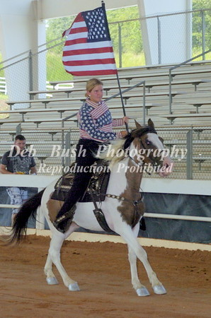 FLAG HORSE AND OPENING CEREMONIES